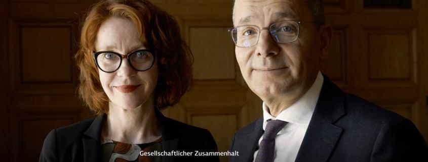 Screenshot: Interview Ulrike Guérot und Günther Bräunig, KfW Stories