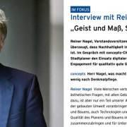 Interview Reiner Nagel