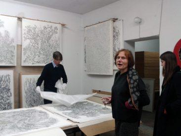 Atelier Ingo Fröhlich, mit Nanne Meyer