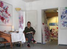 Atelieransicht, Ulrike Seyboth