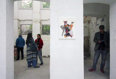 Hybriden & Identitäten, Ausstellungsansicht, Esther & Gäste