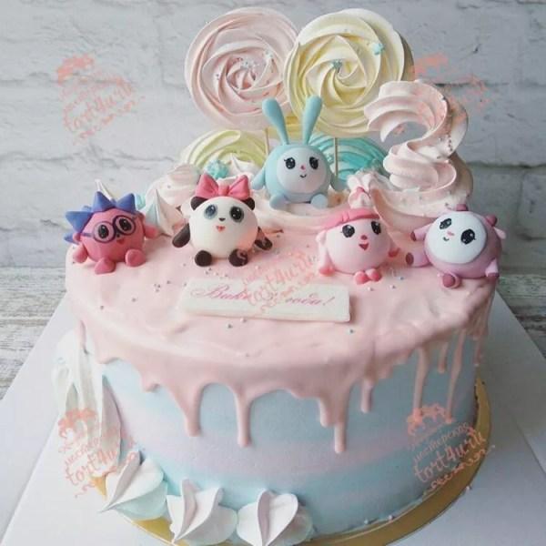Торт на день рождения 2 года девочке. Подборка фото ...