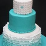 7 mód ombre, színátmenetes torta készítéséhez