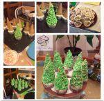 Karácsonyi cupcake készítése, olvasói segítség