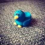 Fondant madárka készítése