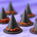 Nutellás csokoládé süveg, halloween desszert gyorsan