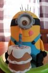 MINION torta készítése, olvasói segítség