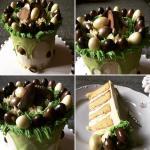 Húsvéti torta készítése, díszítése