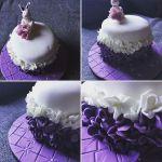 Szülinapi ombre torta