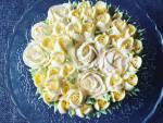Citromos joghurtos tejszínes torta, otthonra