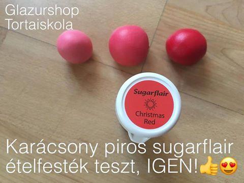 karacsony-piros-sugarflair-etelfestek-paszta-glazurshop-1-1