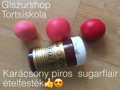 karacsony-piros-sugarflair-etelfestek-paszta-glazurshop-1-2