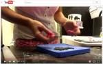 Családi sziluett kiszúró használata gyakorlatban, patchwork cutter