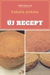Kakaós piskóta receptem