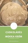 Csokoládés mokka krém
