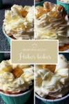Fidres-fodros cupcake díszítés