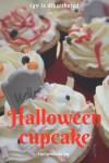 """Halloween """"véres"""" cupcake díszítés"""