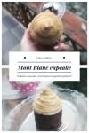 Mont Blanc cupcake, az édességek szerelmeseinek