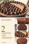 Eperzselés, kevert csokoládés tart