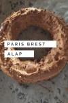 Paris Brest alaptészta, égetett tészta egy kis extrával