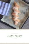 Francia kenyérke, Pain d'epi