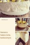 Narancshabos karácsonyi mákos torta