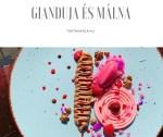 Gianduja krém és málna variációk