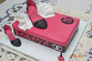 Tortas decoradas con zapatos (9)
