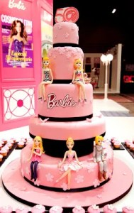 Tortas decoradas de Barbie (2)
