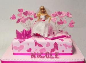 Tortas decoradas de Barbie (8)