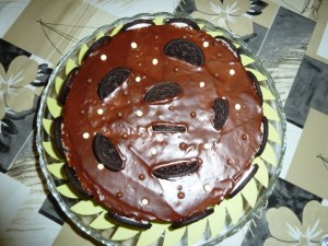 Tortas decoradas con galletitas oreo (2)