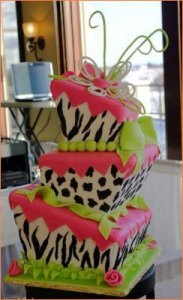 Tortas decoradas con animal print (2)