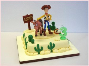 11 Hermosas tortas decoradas de Woody (6)