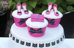 10 Femeninas tortas decoradas con zapatos (4)