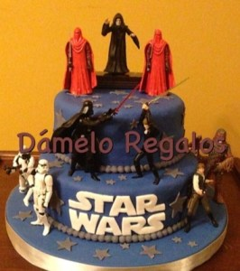 10 originales tortas decoradas de Star Wars (4)