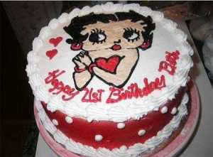 10 Hermosas tortas decoradas de Betty Boop (5)