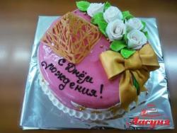 #п180(7) торт для женщины