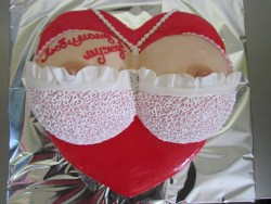 #в200 (8) торт женская грудь для мужа