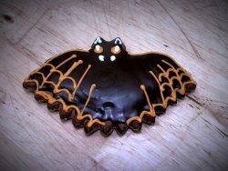#прян(2) пряник на Хеллоуин Летучая Мышь