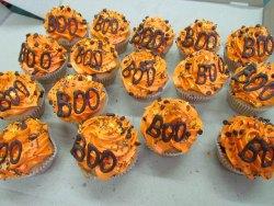 #кап(35) капкейки на Хеллоуин BOO