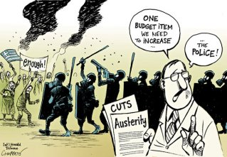 Anti-Austerity Protests in Greece and Spain