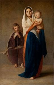 Pellizza da Volpedo. La sacra famiglia. Pinacoteca Il Divisionismo di Tortona