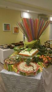 Antipasti del ristorante brasiliano di Novi Ligure