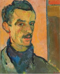 Domenico Rossi. Autoritratto