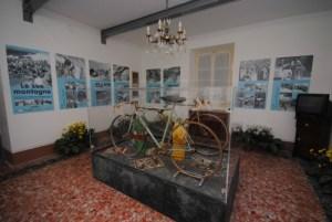 Casa Coppi di Castellania. La sala delle mostre