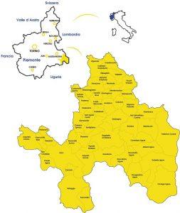 Il distretto del Gal Giarolo Leader in Piemonte