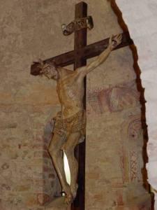 Pieve Romanica di Viguzzolo, crocifisso ligneo