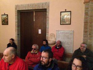 via postumia-la messa del pellegrino alla chiesa di berzano di tortona