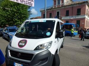 Giro d'Italia 2017, il bus navetta per Castellania