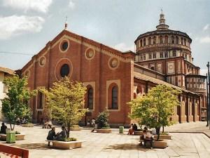 Donato Bramante - Chiesa di Santa amria delle Grazie di Milano